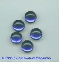 Muggel-Stein 1 Stück, Ø 14mm  (blau)