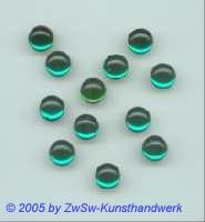 Muggel-Stein 1 Stück, Ø 5mm  (smaragd)