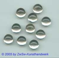 Muggel-Stein 1 Stück, Ø 7mm  (kristall)