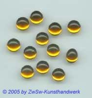 Muggel-Stein 1 Stück, Ø 4mm  (gelb)