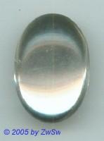 Muggel-Solitär 1 Stück, 25mm x 17mm  (kristall)