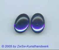 1 Muggel-Stein 25mm x 18mm (dunkelblau)