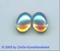 1 Muggel-Stein 18mm x 13mm (kristall/AB)
