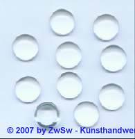 Muggel-Stein 1 Stück, Ø 15mm (kristall)