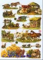 Bauernhof ohne Glimmer