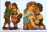 Kinder in Tracht ohne Glimmer