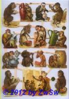 Affen ohne Glimmer
