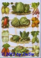Gemüse ohne Glimmer