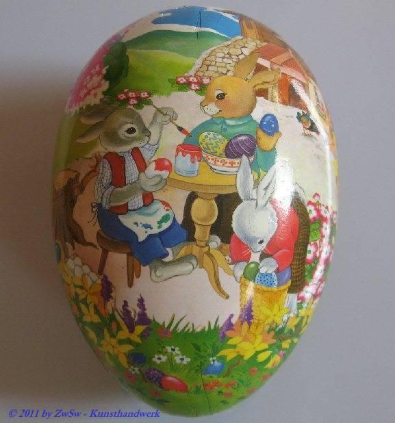 Beim Eieranmalen, 18cm