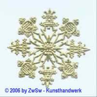 Rosette 1 gold 1 Stück
