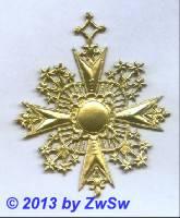 Cotillon-Orden, ca. Ø 80mm
