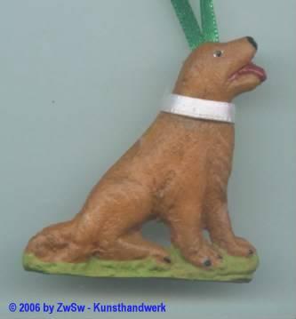 Anhänger Hund, 4,7cm