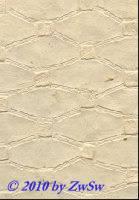 Handgefertigtes Papier natur mit Prägung