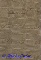 Handgefertigtes Papier perlgrau mit Prägung