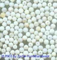Glasperlen 30 Stück perlmuttoptik, ca. Ø 4mm bis Ø 5mm