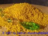 Rocailles 3 mm zitronengelb 20 g