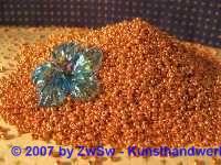 Rocailles 2,5 mm metallicgold 20 g