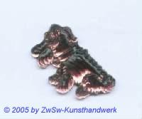 Hund als Strass 1 Stück, 3cm (amethyst)
