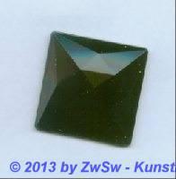 Quadrat, 25mm x 25mm, schwarz