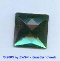 Quadrat, 25mm x 25mm, grün