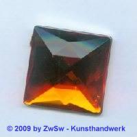 Quadrat, 25mm x 25mm, orange