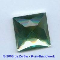 Quadrat, 25mm x 25mm, hellgrün