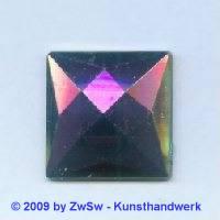 Quadrat, 25mm x 25mm, lila/AB