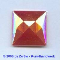 Quadrat, 25mm x 25mm, rot/AB