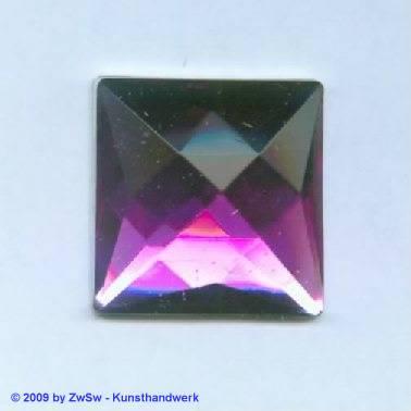 Quadrat, 25mm x 25mm, lila