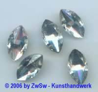 1 Spitzoval kristall 18mm x 10mm