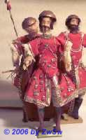 Soldaten aus dem Troß König Balthasar