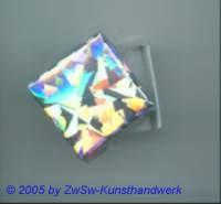 Schachtel mit Hologrammfolie