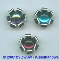 2 Metallrosetten Stein in scarabeus