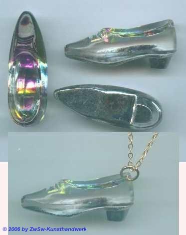 Glas-Schuh 1 Stück