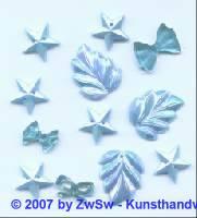Acrylglasset zum aufnähen hellblau/AB
