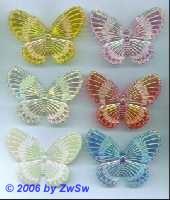 Schmetterling aus Acrylglas rosa/AB