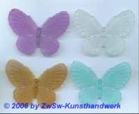 Schmetterling aus Acrylglas flieder/mattiert
