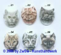 Bilderstein Katze