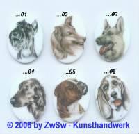 Bilderstein Hund
