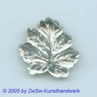 Strassstein in Blattform 1 Stück, 15mm x 15mm (kristall)