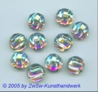 Strassstein 1 Stück, Ø 14mm (kristall/AB)