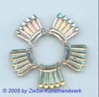 Bergkristall 1 Stück, 18mm x 16mm (kristall)