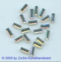 Strass/Stäbchenform 1 Stück, 10mm x 4mm (kristall/AB)