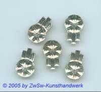 Zierstein 1 Stück, 18mm x 12mm (kristall)