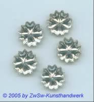 Strassstein als Blume 1 Stück, Ø 15mm (kristall)