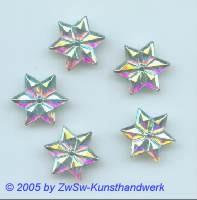Eiskristall 1Stück, Ø 16mm (kristall/Irisierend)