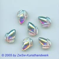 Strassstein 1 Stück, 16mm x 11mm (kristall/AB)
