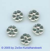 Strass/Blütenform 1 Stück, Ø 11mm (kristall)