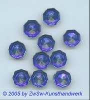 Strassknopf 1 Stück, Ø 13mm (dunkelblau)