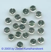 Strassknopf 1 Stück, Ø 7mm (kristall)